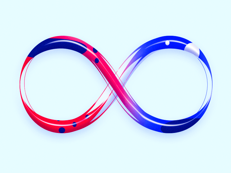 Infinity ∞ calligraphy illustration graphicdesign typography font infinity endless