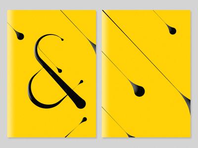 & / Digital Calligraphy - Micro Wallet design