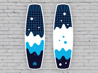 IO Wakeboard Graphics competition 2 / for Humanoid Wakeboards
