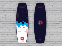 IO Wakeboard Graphics competition 3 / for Humanoid Wakeboards