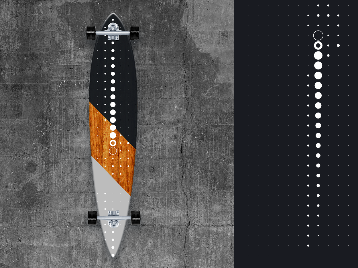 Lo●o●○◯ngbo●○ard 2019/1 illustrator photoshop minimal longboarding graphicdesign design longboards art