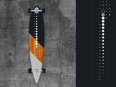 Lo●o●○◯ngbo●○ard 2019/1 illustrator photoshop minimal longboarding graphicdesign design longboards art