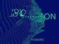 """Tribute to Joy Division's - """"Unknown Pleasures"""" Album Design"""
