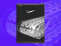 Unofficial kinetic poster for @nike