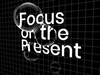 """""""Focus on the Present"""" / AR Kinetic Poster Project /"""