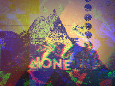 Late Night Plays with PS digital illustration glitch art