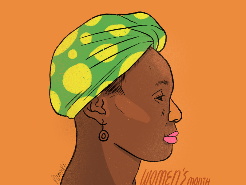 Women's Month designer illustrator digital illustration illustration