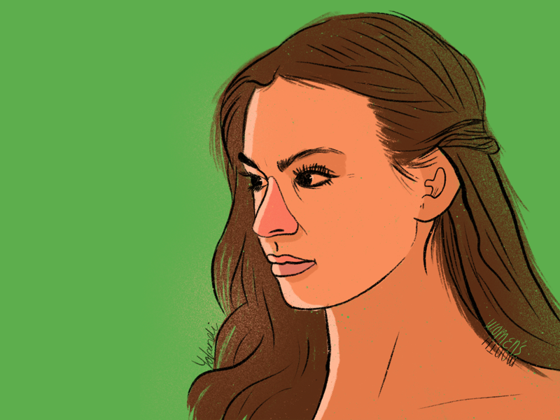 Women s Month Yolandi design illustration illustrator designer digital illustration