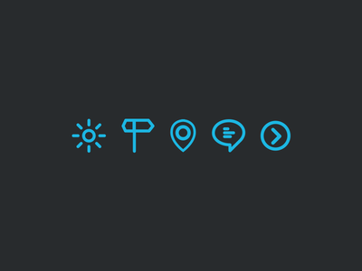Icons icons vector rwd responsive adaptive design app ipad blue retro apple ios7