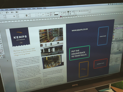 A Centerfold centerfold editorial design layout concept typography