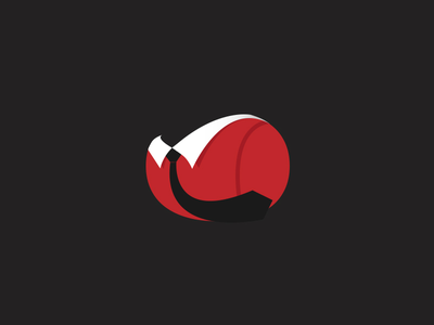 Undisclosed App Icon / logo app blog red clean design icon illustration iphone logo ui typography ux