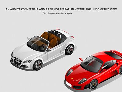 Audi and Ferrari