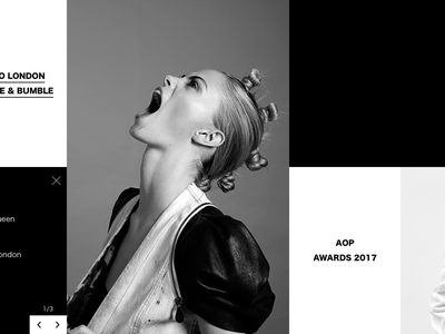 Black & White 2 | JC Verona Portoflio Concept web motion interaction design typography branding portfolio framer x ux animation ui