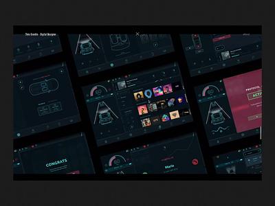 Portfolio • Open Project design video portfolio ui interface motion interaction cinema branding black animation