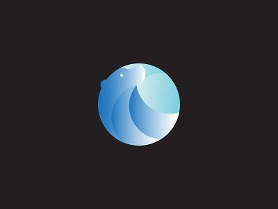 Bear Design and Process mark logo illustration identity hello dribbble design crypto blockchain bear