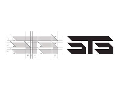 Grid it. Get it right. identity mark brand helllo ratio golden design logo grid