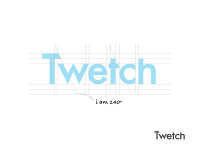 Twetch Custom Logotype custom lettering branding brand logodesign twetch logotype typography logo custom