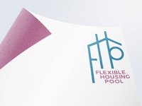 Flexible Housing Pool Logo Concept