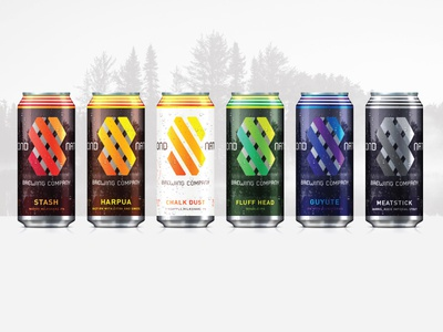Second Nature Brewing Company Cans