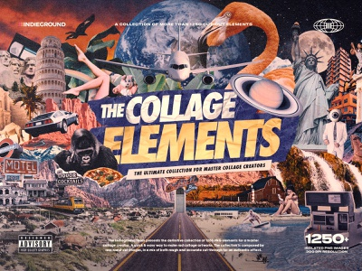 The Collage Elements PNG Collection clippings cliparts bundle textures collage kit collage creator cutouts artwork grunge animals landscapes people scrapbook collages transparent background png collage design photoshop template