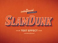 Retro Vintage Text Effect No.28
