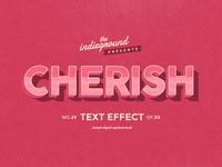 Retro Vintage Text Effect No.29