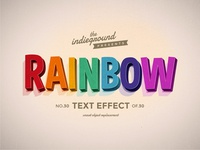 Retro Vintage Text Effect No.30