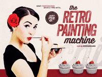 Retro Painting Machine - Vintage Effect Action