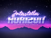 80s Retro Text Effects - No.1