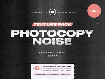 Free Photocopy Noise Textures hq textures texture noise photocopy vintage photoshop freebie free