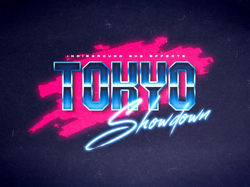 80s Photoshop Text Effects Vol 2 - No 8 by Roberto Perrino