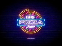 Neon Sign Effects for Photoshop - Panucci Pizza House