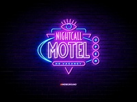 Neon Sign Effects for Photoshop - Nightcall Motel