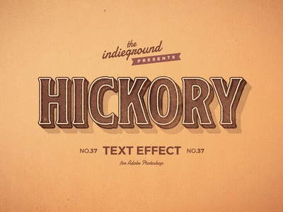 Retro Vintage Photoshop Text Effect No.37 1920s wooden wood 50s 1950s smart object template style photoshop 3d logo design type typography mockup retro text effects classic vintage psd