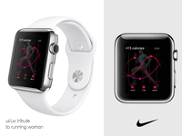 Nike Running Woman Tribute