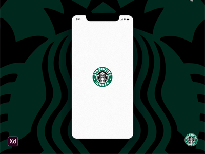 Starbucks Cards Animation ui pack interactive prototype card animation made with adobe xd adobe xd freebie user interface ux