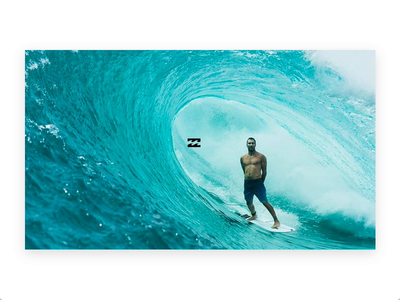 BILLABONG TRIBUTE freebies made with adobe xd scroll animation clip to path interface design user interface ux
