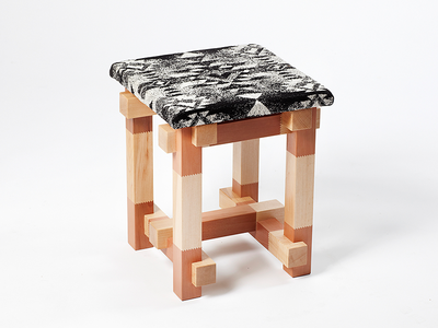 Textile Design - Nevada Stool with Kristoffer Sundin