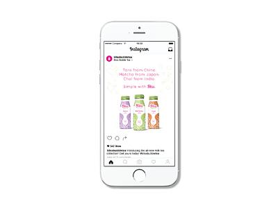 Bliss Social Media packaging instagram social media branding extension brand identity graphic design branding