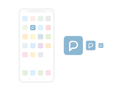 Planit App Icon flat ux ui app vector design illustration icon set icons logomark logo iconagraphy icon branding branding extension brand identity graphic design