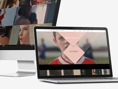 Brian Fawcett Portfolio 2014 film dogma responsive photography portfolio design website
