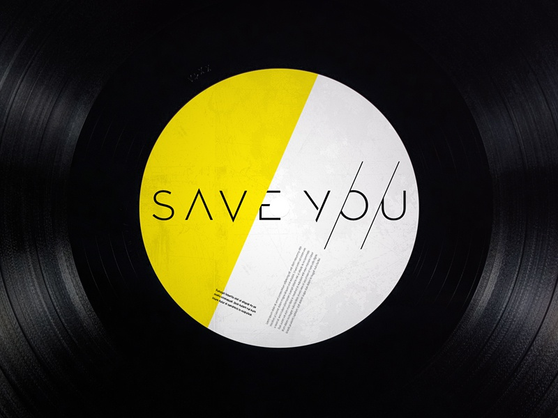 Save You 2013 save you record label vinyl typographic identity logo brand type handmade