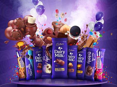 Cadbury photoshop packaging outdoor logo icon dribbble designers design creativroom creative branding behance