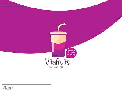 Vitafruits - Logo photoshop packaging outdoor logo icon dribbble designers design creativroom creative branding behance