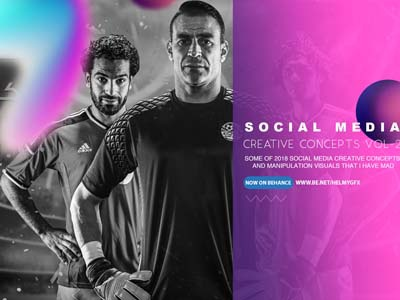 Creative Concepts   Social Media Vol-2 photoshop packaging outdoor logo icon dribbble designers design creativroom creative branding behance
