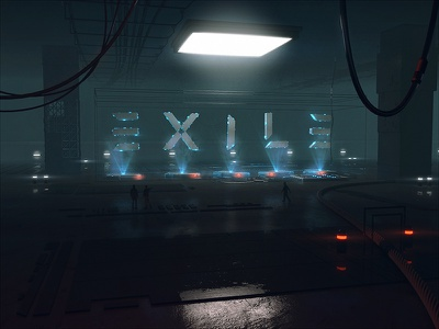 Exile survivor beeple compositing after effects cinema 4d