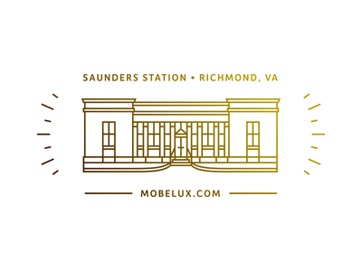 Straight from the eagle's mouth. richmond postcard post office icon illustration emblem