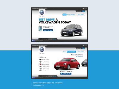 Volkswagen PH - Lightbox Rich Media Ad