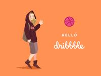 Hello dibbble!