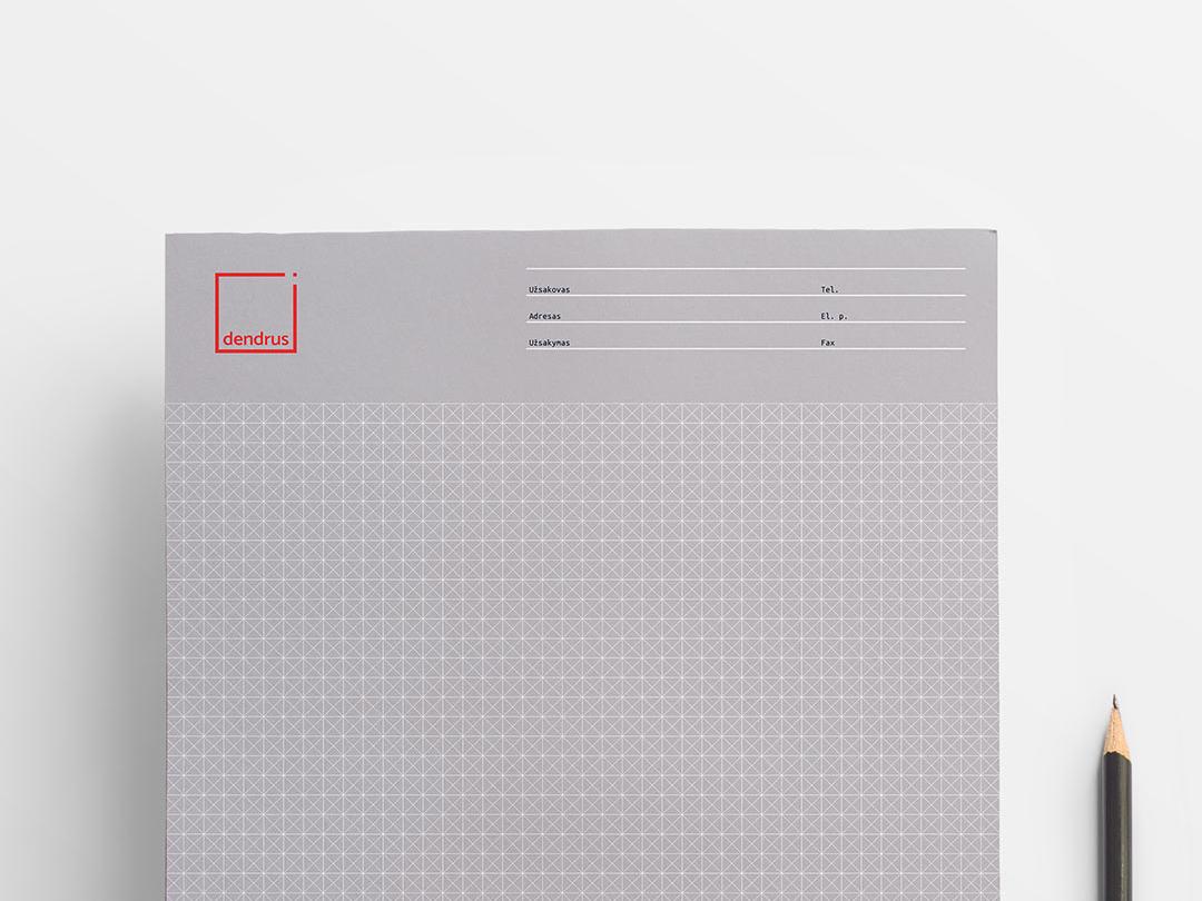 Dendrus notebook rectangle logo wordmark wordmark logo minimal red logo redesign logo rebrand rebranding brandid sketchbook rectangle rectangular architectural arch notebook stationary stationery